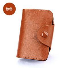 Slymaoyi Genuine Leather Unisex Card Holder Wallets High Quality Female Credit Card Holders Women Pillow Organizer Purse