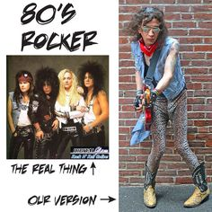 80s style attire mens 80s clothing 80s costumes dallas 80s vintage clothing 80s costume shop dallas hair metal 1980s costumes vintage costu - 80s Rocker Halloween Costume