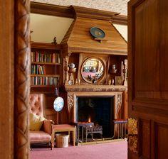 Warm Edwardian sitting room