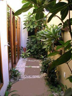 Jardim interno: Jardins de inverno tropicais por Metamorfose Arquitetura e Urbanismo