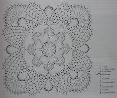 The best techniques to advertise your interior design business online - Crochet Filet Crochet Motif Patterns, Crochet Diagram, Crochet Squares, Filet Crochet, Crochet Stitches, Crochet Table Runner, Crochet Tablecloth, Crochet Doilies, Crochet Flowers