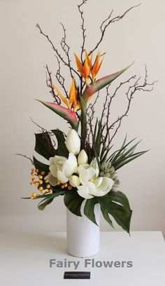 awesome Table Flower Arrangements - Fairy Flowers - The Wedding Flowers Specilaist