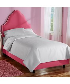 beautiful pink bed frame designs collection for girls room admirable french high arch nail button