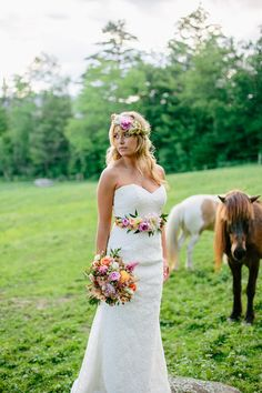 Romantic Country Wedding Styled Shoot | The Light   Color Photography | Reverie Gallery Wedding Blog