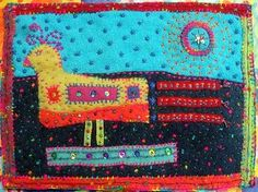 janet bolton's textile pictures book - Google Search