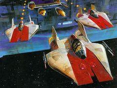 Ralph McQuarrie Star Wars art