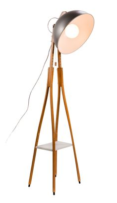 { i knew there was a reason I saved all those wooden crutches from World's Longest YS!! }Crutches Floor Lamp by StudioRegev on Etsy, $980.00