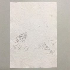 #WORK 005 JUL, 2015 297x210mm #pencil on #paper [tag] #abstract #drawing #beauty #simple #blank #space #void #indication #trace #deficiency #shading #foggy #shabby #vintage #patina #aged #crease #minimal #blur #snow #missing #oxidation #stain #zen #余白 #濃淡 #禅