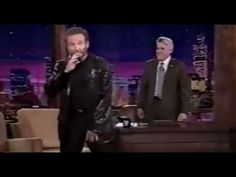 Robin William funniest interview with Jay Leno