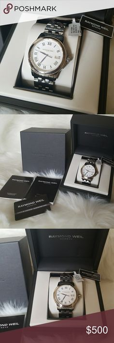 Spotted while shopping on Poshmark: NWT RAYMOND WEIL MEN'S TRADITION STEEL WATCH 30M! #poshmark #fashion #shopping #style #Raymond Weil #Other