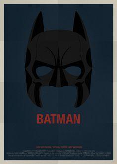 Batman Movie Poster /// Alejandro de Antonio Fernandez