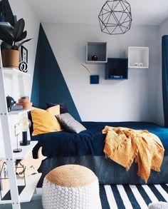 Modern Loft designed by Carlberg Home - loftisallyouneed Bedroom Setup, Boys Bedroom Decor, Small Room Bedroom, Bedroom Colors, Home Bedroom, Boys Bedroom Paint, Big Boy Bedrooms, Bedroom Wall Designs, New Room