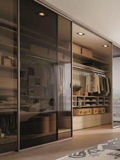 Wardrobe Room, Wardrobe Design Bedroom, Room Design Bedroom, Home Room Design, Dream Home Design, Modern House Design, Home Decor Bedroom, Home Interior Design, Sliding Wardrobe