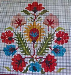 Cross Stitch Borders, Cross Stitch Flowers, Cross Stitching, Cross Stitch Patterns, Folk Embroidery, Cross Stitch Embroidery, Alice In Wonderland Cross Stitch, Crochet Table Runner Pattern, Vintage Cross Stitches