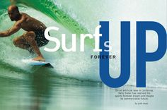Hallett - Type and Image Design: David Carson designed this for an article about artificial surfing in Bloomberg Business Week. The image and the type work together to illustrate the main idea of the article. David Carson Design, David Carson Work, Identity Design, Brochure Design, Visual Identity, Identity Branding, Corporate Identity, Corporate Design, Graphic Design Posters