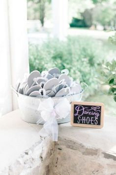 Dancing Shoes | Michelle Lange Photography | TheKnot.com