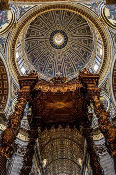 St. Peter's Basilica Cupola II by attilapivarnyik #architecture #building #architexture #city #buildings #skyscraper #urban #design #minimal #cities #town #street #art #arts #architecturelovers #abstract #photooftheday #amazing #picoftheday