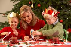 25 Easy ideas – Christmas crafts for kids with simple materials