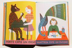 """""""Forte come un orso"""" de Katrin Stangl via Atelier pour enfants"""