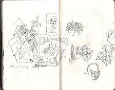 Végétation - Capucine Léonard-Matta