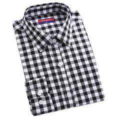 5c782e0ab7a Dámské košile s dlouhým rukávem kostičkovaná bílá- dámské košile + POŠTOVNÉ  ZDARMA Na tento produkt