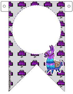 Fortnite Banderines de Cumpleanos para Imprimir Gratis | Todo Candy Bar 7th Birthday Party Ideas, 8th Birthday, Birthday Party Decorations, Happy Birthday, Birthday Parties, Free Printable Banner, Soccer Party, Pirate Party, Party Printables