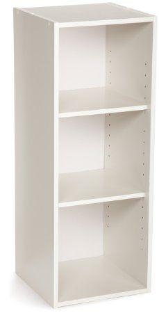 Amazon.com - ClosetMaid, 3-Shelf Laminate Stacker Organizer, White, 898700