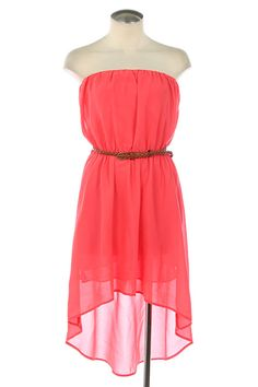 Kiki La'Rue - Secret Garden Hi-Low Dress - Coral , $46.00 (http://www.kikilarue.com/secret-garden-hi-low-dress-coral/)