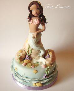 Little mermaid - Cake by Torte d'incanto