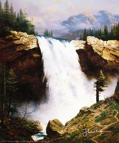 Thomas Kinkade - The Power and The Majesty  1994