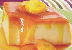 Receita de Pudim de banana. Receitas deliciosas e muito mais você encontra em Saborosa Receita, seu site de culinária.