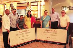 'Who's That Girl' competition winners - Aparna Suryavanshi and Bharati Lala