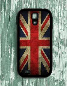London England Flag Samsung Galaxy S4 Case
