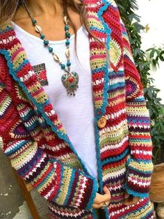 Long Sleeve Casual Hoodie Winter Teddy Bear Printed Warm Plus Size Coat – knitting sweaters vintage Cardigan Au Crochet, Gilet Crochet, Cardigan En Maille, Knit Crochet, Sweater Cardigan, Crochet Granny, Pullover Sweaters, Plus Size Sweaters, Casual Sweaters