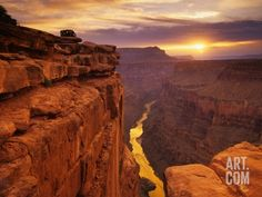 Grand Canyon from Toroweap Point Photographic Print by Ron Watts at Art.com