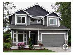 House colors Gray house exterior Exterior paint colors for house House paint exterior