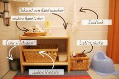 Unser Montessori-inspiriertes Zuhause - Die Toilette