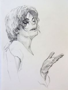 Michael Jackson at the Anniversary in September N. Michael Jackson in N. Michael Jackson Drawings, Michael Jackson Art, Michael Love, Amazing Drawings, My Drawings, Love Painting, Art Pages, My Idol, Fine Art America