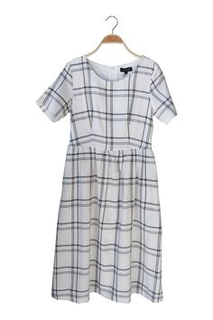 The Ida Plaid Dress | ROOLEE