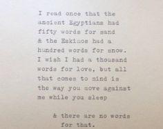 East of Eden Quote Typed on Typewriter by WhiteCellarDoor on Etsy