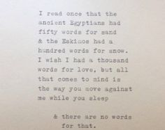East of Eden Quote Typed on Typewriter by WhiteCellarDoor on Etsy