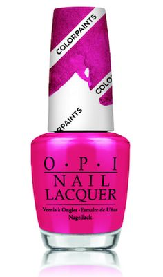 @opiproducts  Pen & Pink from OPI's New Color Paints Blendable Nail Lacquer