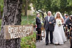 barn wood sign rustic wedding