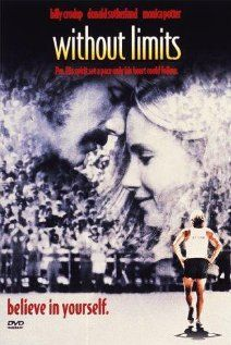 Without Limits - The film follows the life of famous 1970s runner Steve Prefontaine from his youth days in Oregon to the University of Oregon where he worked with the legendary coach Bill Bowerman, later to Olympics in Munich and his early death at 24 in a car crash. (1998)