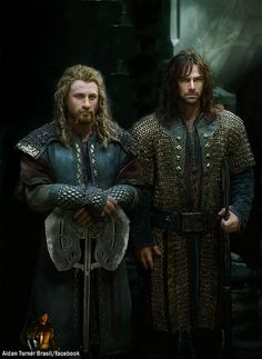 Kili and Fili.
