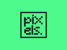pixels logo. by Andrew Parsons