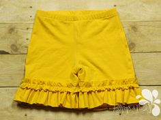 Ring of Ruffles Shorts Shorties Solid Color Options Custom Made to Order Ruffled Shorts 2 3 4 5 6 7 8 10 12 layer USA back to school by LollipopsPaisley on Etsy