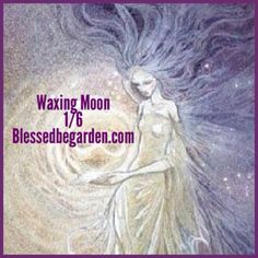 "Today's moon is waxing moon. Use this moon phase for ""positive magick"", anything that draws things to you. Need a new home or job? Need happiness or patience? This is the time."