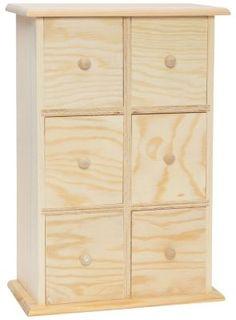 Schränkchen aus Holz, 21 x 11 x 30 cm € 10,95