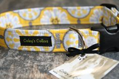 Dog Collar The Julia by ColeysCollars on Etsy